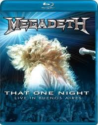 Megadeth That One Night Live In Buenos Aires  (Blu-ray)* на Blu-ray