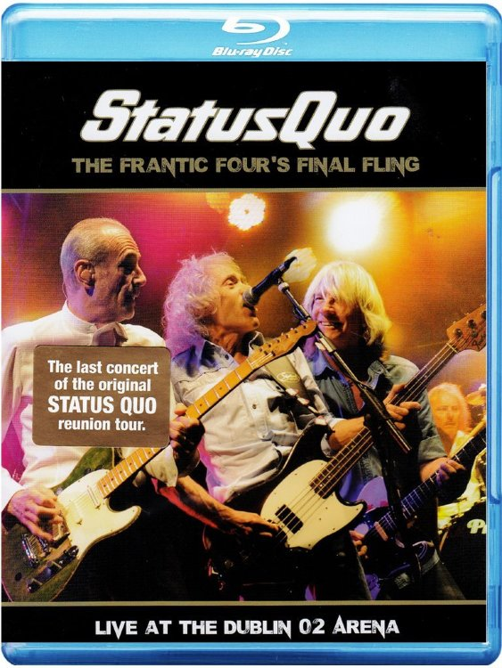 Status Quo The Frantic Fours Final Fling Live At The Dublin 02 Arena (Blu-ray)* на Blu-ray