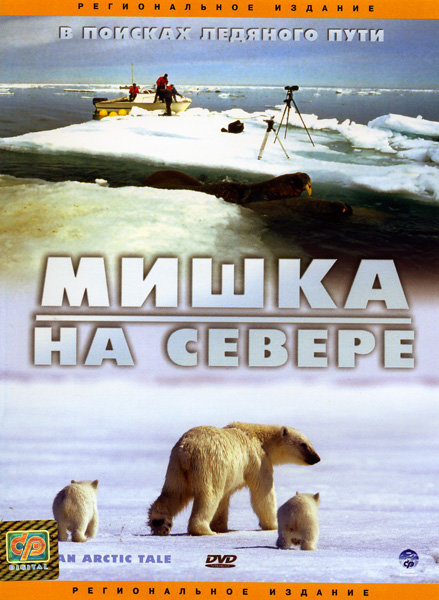 Мишка на севере на DVD