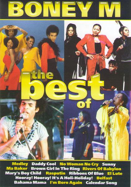 Boney M The Best на DVD