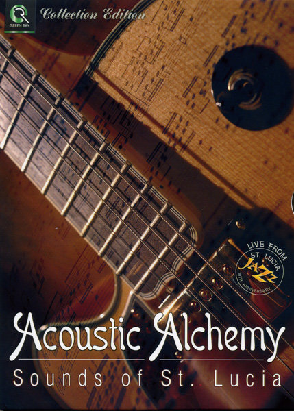ACOUSTIC ALCHEMY - Live from St.Lucia   на DVD