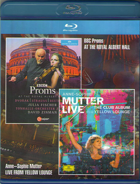 BBC Proms at the Royal Albert Hall / Anne Sophie Mutter Live From Yellow Lounge (Blu-ray) на Blu-ray