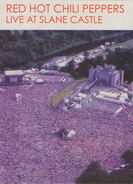 Red Hot Chili Peppers Live at Slane Castle на DVD