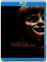 Проклятие Аннабель (Blu-ray)