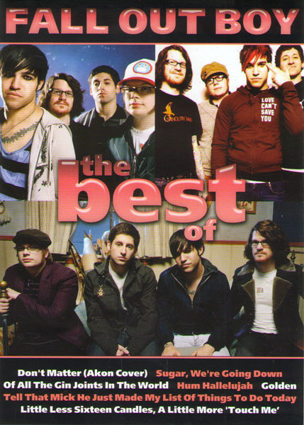 Fall Out Boy The dest of (Живое выступление / Клипы) на DVD