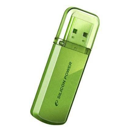 Флеш-карта Flash Drive 8 GB USB 2.0 Silicon Power Helios 101 Green