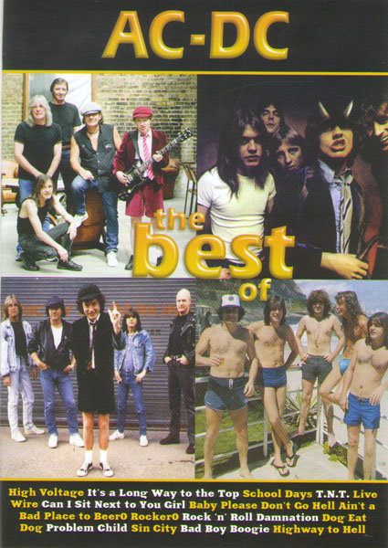AC DС The best of (Plug Me In / Brian Johnson era / Between the cracks / Rough and tough) на DVD