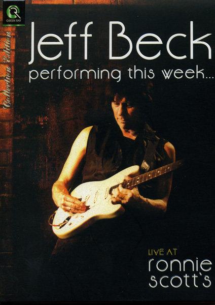 JEFF BECK - Live at Ronnie Scott`s  на DVD