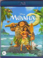 Моана 3D+2D (Blu-ray)