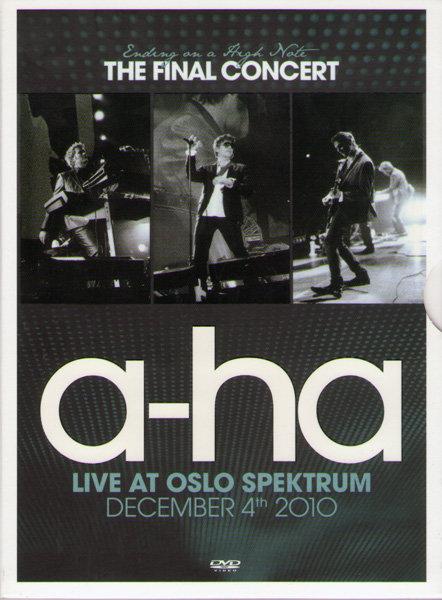 A-ha Live At Oslo Spectrum на DVD