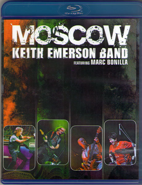 Keith Emerson Band Featuring Marc Bonilla Moscow Tarkus (Blu-ray)* на Blu-ray