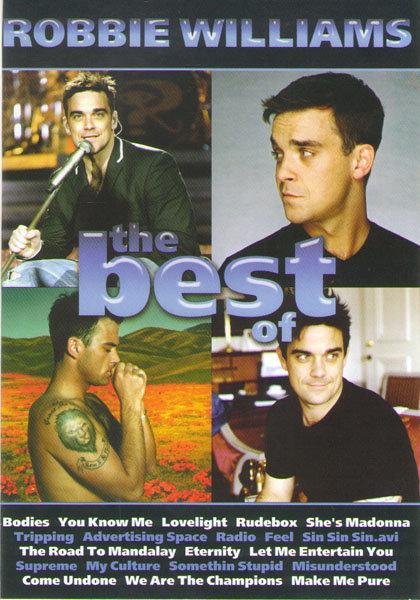 Robbie Williams The best of  на DVD