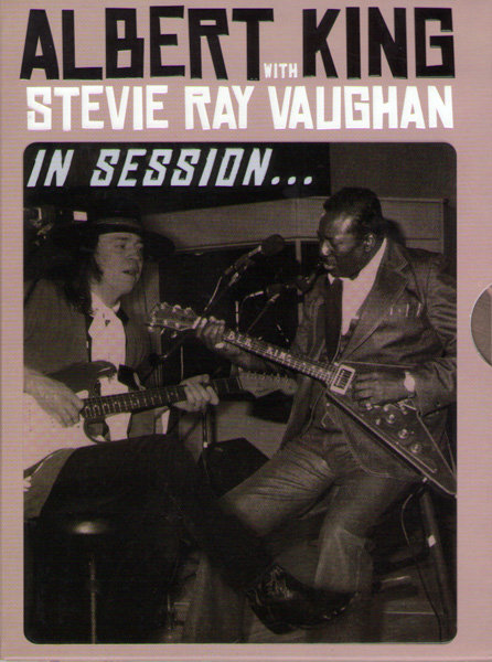 Albert King with Stevie Ray Vaughan In Session на DVD