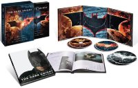 Темный рыцарь Трилогия (Бэтмен Начало / Темный рыцарь / Темный рыцарь Возрождение легенды) (6 DVD + книга)