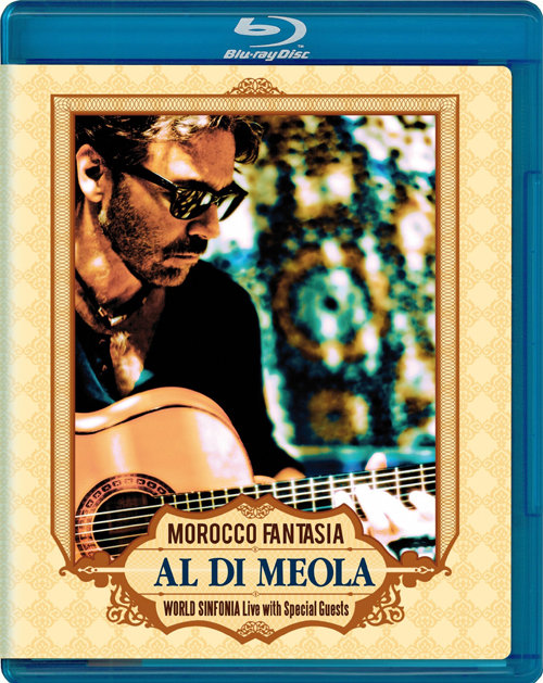 Al Di Meola Morocco Fantasia World Sinfonia Live with Special Guests (Blu-ray)* на Blu-ray
