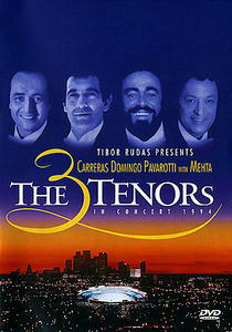 Carreras, Domingo, Pavarotti (Three Tenors) на DVD