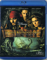 Пираты Карибского моря Сундук мертвеца 3D+2D (Blu-ray)