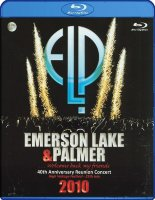 Emerson Lake and Palmer 40th Anniversary Reunion Concert (Blu-ray)