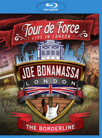Joe Bonamassa Tour De Force Live In London (The Borderline / Shepherds Bush Empire / Hammersmith Apollo / Royal Albert Hall) (4 Blu-ray)