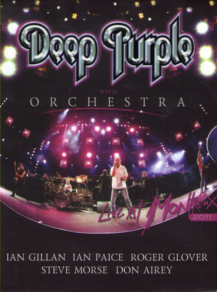 Deep Purple with Orchestra Live At Montreux 2011 на DVD