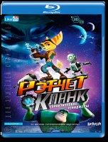 Рэтчет и Кланк Галактические рейнджеры (Blu-ray)