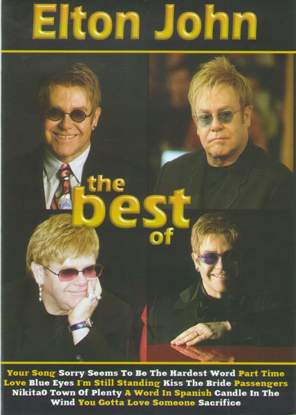 Elton John The Best of (Клипы / Elton John One night only The Greatest Hits / Elton John The Red Piano)  на DVD