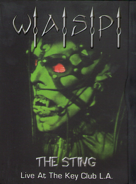 WASP The Sting Live / The Videos на DVD