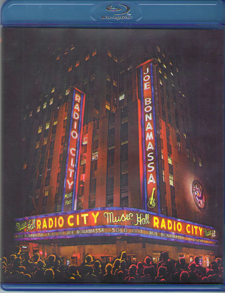Joe Bonamassa Live at Radio City Music Hall (Blu-ray)* на Blu-ray