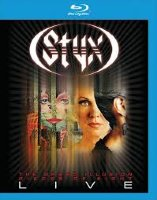 Styx The Grand Illusion / Pieces of Eight Live (Blu-ray)*