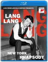 Lang Lang Live from Lincoln Center presents New York Rhapsody (Blu-ray)
