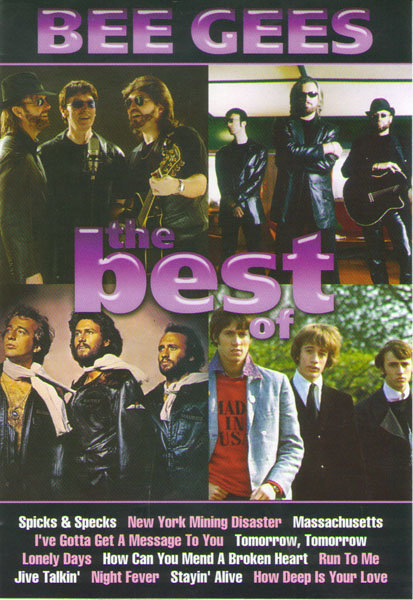 Bee Gees The Best of на DVD