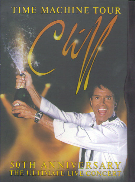 Cliff Richard Time machine tour 50th Anniversary Live на DVD