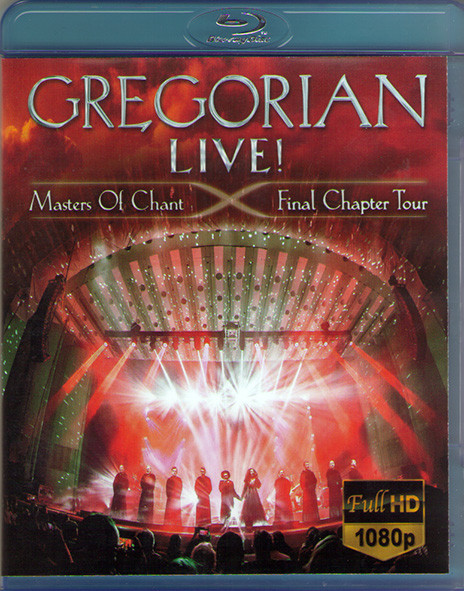 Gregorian Live Masters of Chant Final Chapter Tour (Blu-ray)* на Blu-ray