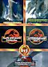 Парк юрского периода 1,2,3 / Годзилла / Динокрок на DVD