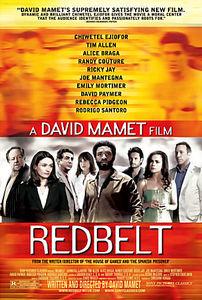 Красный пояс на DVD