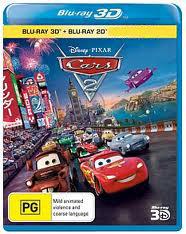 Тачки 2 3D+2D (Blu-ray 50GB)