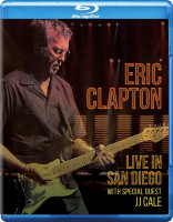 Eric Clapton Live In San Diego with Special Guest JJ Cale (Blu-ray)*